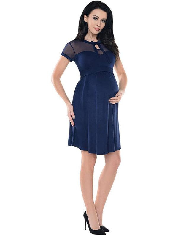 traje-embarazada-azul-oscuro