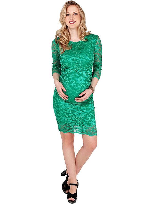 vestido-verde-para-embarazadas