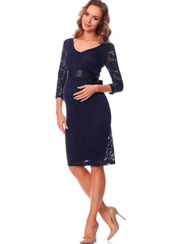 vestidos-de-ceremonia-para-embarazadas-azul