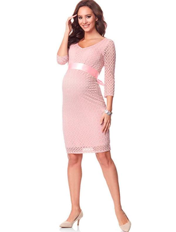 vestidos-de-fiestas-para-embarazadas-rosa
