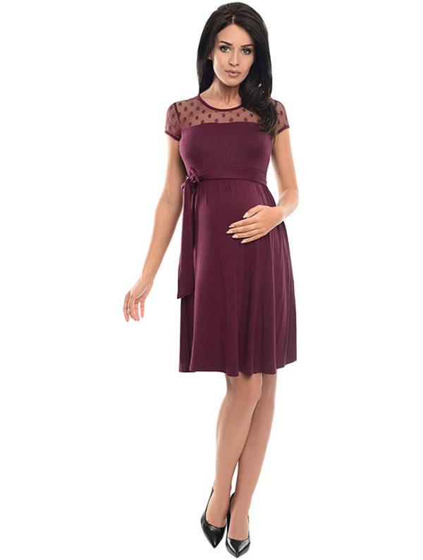 vestidos-fiesta-embarazadas-lila
