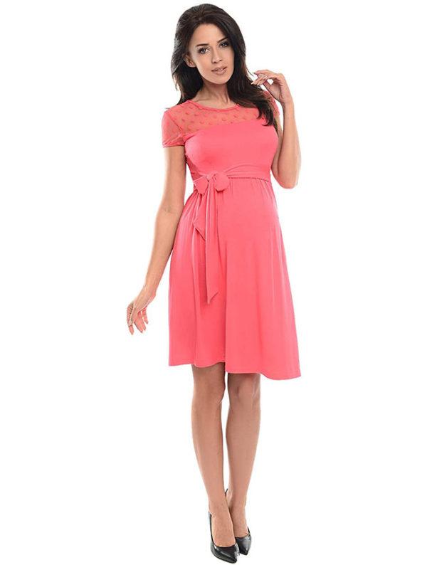 vestidos-premama-rosas