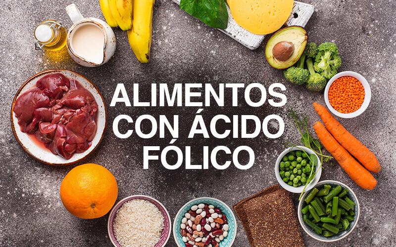 Ácido Fólico alimentos