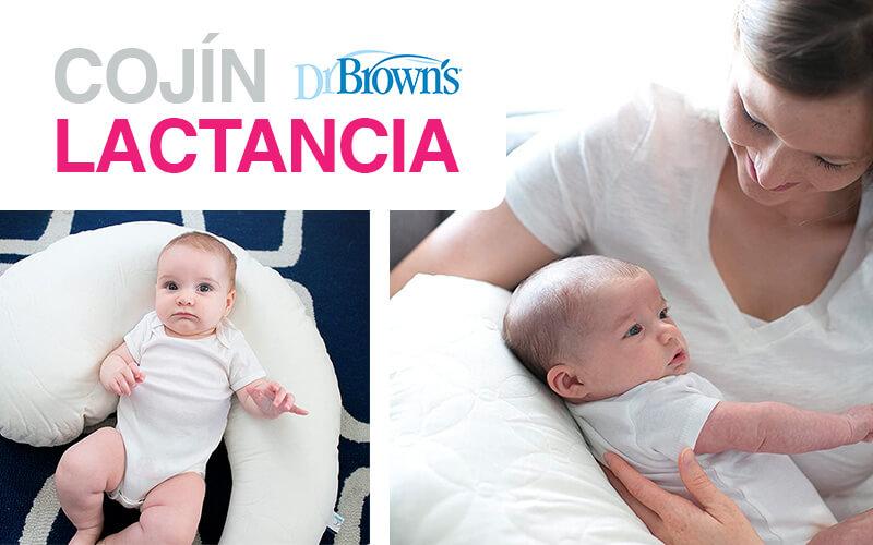 Cojín de lactancia Dr. Brown's Gia